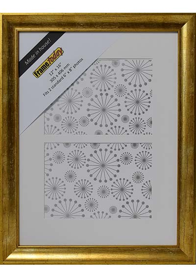 Cairo Gold 12x16 Picture Frame