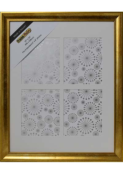 Cairo Gold 16x20 Picture Frame