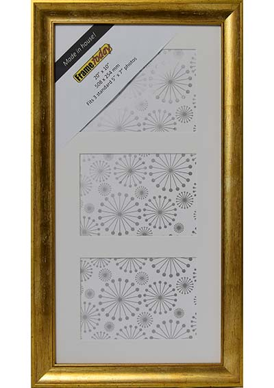 Cairo Gold 20x10 Picture Frame