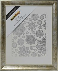 Cairo Silver 11x14 Picture Frame